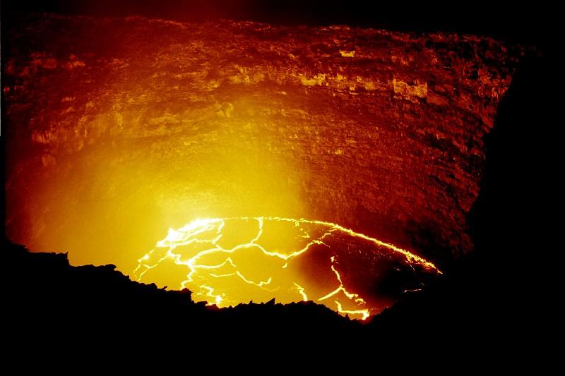 Erta Al 233 Volcan Bouclier Et Lac De Lave